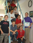 Ms. Corley Best Buy AWard Certificate/Class